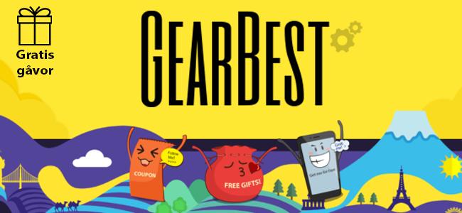 gearbest-gratis-saker-gåvor-prylar-grejer