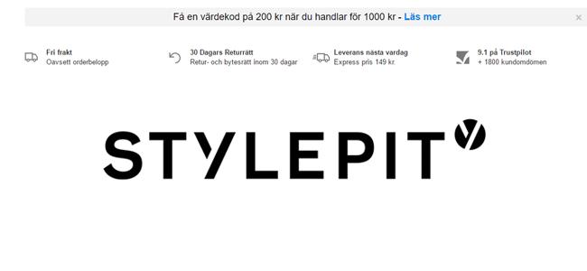 980f8b534c20 Få gratis värdekod på kläder - 200 kr | BästGratis.se